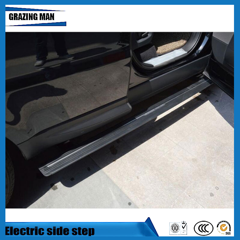 Hot sale aluminium alloy side step running board Electric pedal for Range Rover sport 2014 2016