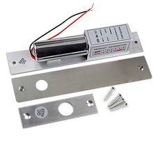 Electric-Bolt-Locks Access-Control-System Biometric Fail Safe for Aluminum-Doors Stainless-Steel