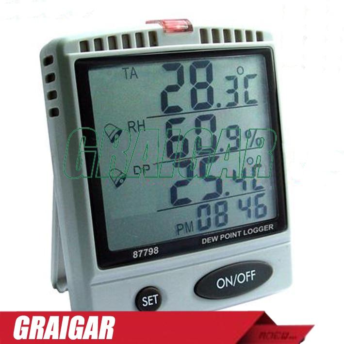 AZ87798 Desktop Dew Point Humidity Temperature Tester,87798 Dew Point SD Card LoggerAZ87798 Desktop Dew Point Humidity Temperature Tester,87798 Dew Point SD Card Logger