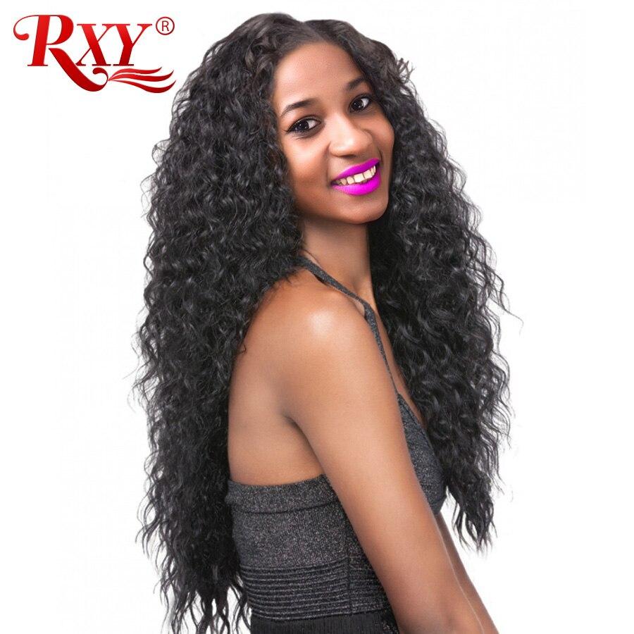 RXY Brazilian Deep Wave Remy Hair Bundles 1PC Natural Color Weave Human Hair Bundles Can Buy 3 Bundles or 4 Bundles Extensions
