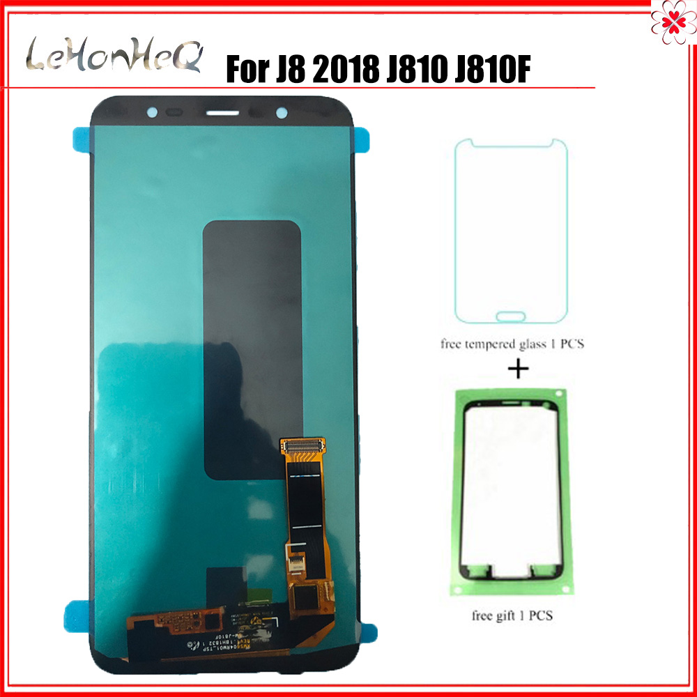 OLED LCD For Samsung J8 2018 J810 LCD Display Touch Screen Digitizer For Samsung Galaxy J8 J810 J810F J810Y Assembly ReplacementOLED LCD For Samsung J8 2018 J810 LCD Display Touch Screen Digitizer For Samsung Galaxy J8 J810 J810F J810Y Assembly Replacement