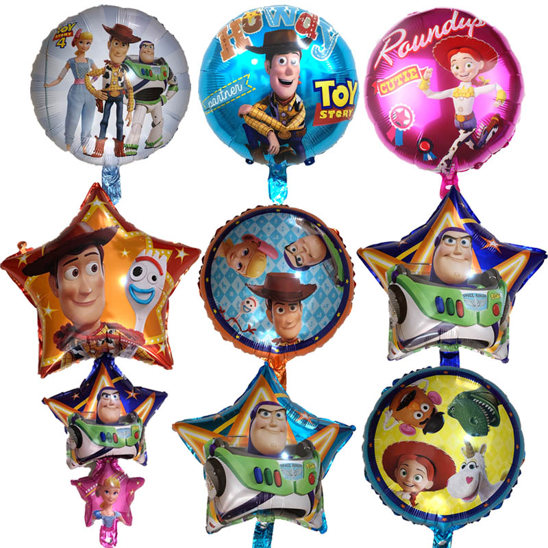 """18/"""" Toy Story 3 Foil Balloons Party Decoration Happy Birthday Celebration Gift"""