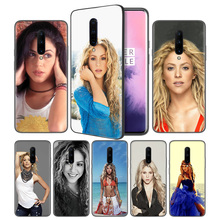 Shakira Luxury Hybrid Soft Black Silicone Case Cover for OnePlus 6 6T 7 Pro 5G Ultra-thin TPU Phone Back Protective
