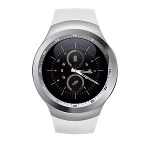 Image 4 - 工場 2 グラムスマートウォッチ 1.22 インチフルラウンドディスプレイ sim シングルナノ sim の bluetooth カメラなし SM01 スマート腕時計
