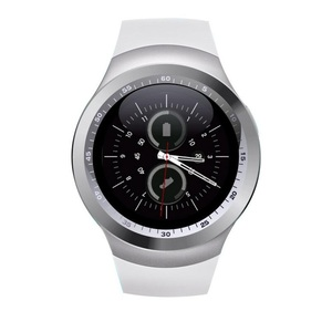 Image 4 - מפעל 2G Smartwatch 1.22 אינץ מלא עגול תצוגת sim יחיד nano sim Bluetooth SM01 חכם שעון ללא מצלמה
