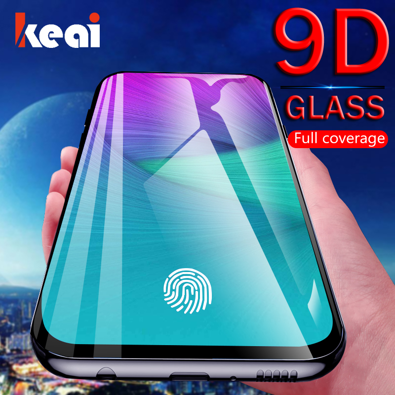 9D Full Curved Screen Protector Tempered Glass For Samsung Galaxy A50 A70 J6 J4 Plus J8 2018 A10 A20 A30 A40 A60 A80 A90 Cover