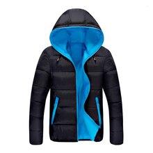 2016 Горячий Продавать Моды Случайные зимняя куртка мужчины Пальто Удобная и Высокое Качество Куртка 3 Цвета Плюс Размер XXXL Оптовая