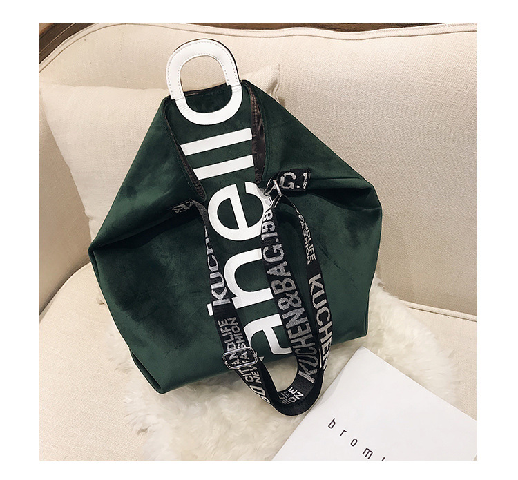 HTB1T8QVh5LaK1RjSZFxq6ymPFXai - New Large-capacity Velvet Handbag Fashion Lady Letter Shoulder Crossbody Bag High Quality Women's Shopping Bag Tote
