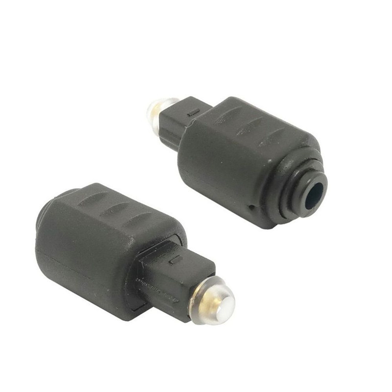90 Degree Right Angle Toslink Digital Optical Jack to Plug Audio Adapter Lots US