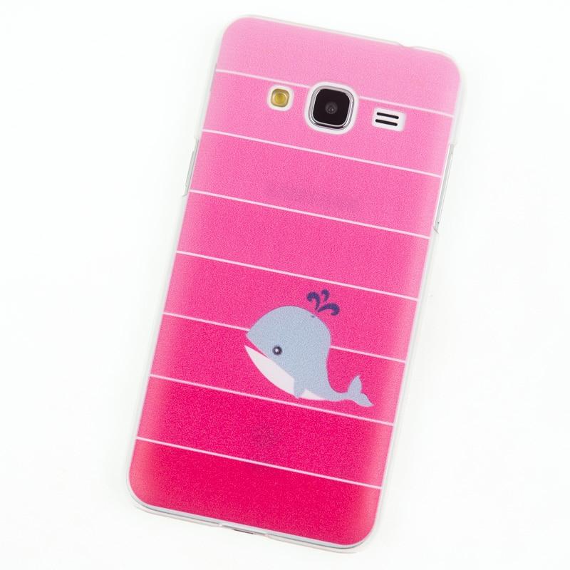 buy phone cases for samsung galaxy j3 2016 case j320 pink whale cover j 3. Black Bedroom Furniture Sets. Home Design Ideas