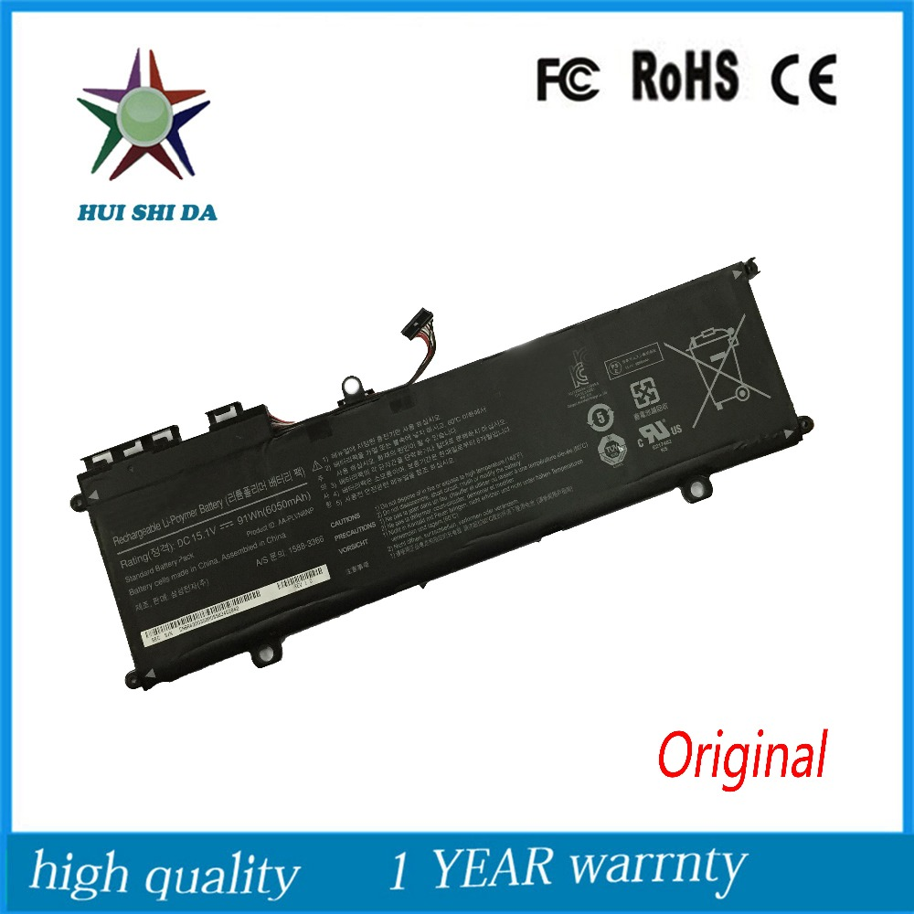 15 1V 91Wh New Original font b Laptop b font Battery for Samsung AA PLVN8NP ATIV