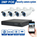 JOOAN 1080P 2MP Security Camera System 48V POE NVR Whit  4pcs 1920*1080 ONVIF POE IP Camera 4CH CCTV Video Surveillance