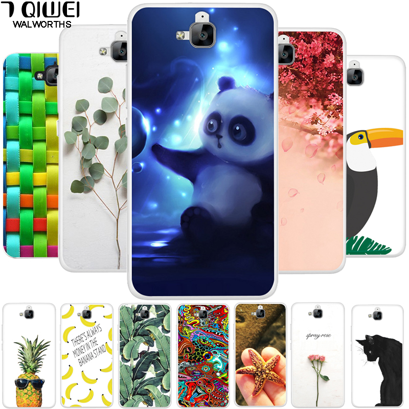 For Huawei Honor 4C PRO Case Russian Cover Soft TPU Silicone FOR Huawei Y6 Pro Case Cover 4 C 4CPRO Y 6 Y6Pro Fundas Slim Para
