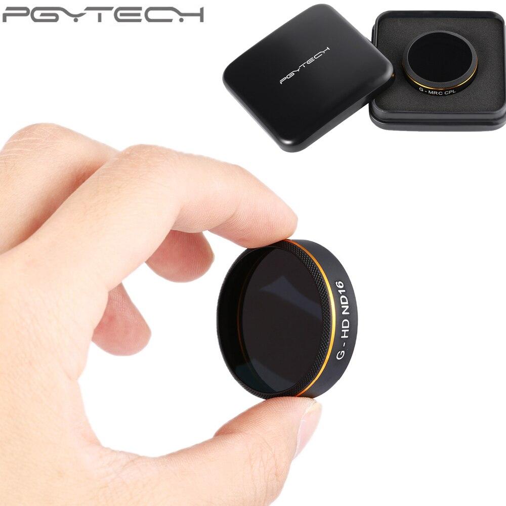 1 pz PGYTECH Originale Lens Filtri per Phantom 4 Pro Drone G-HD-MC UV ND4 ND8 ND16 ND32 ND64 CPL HD filtro