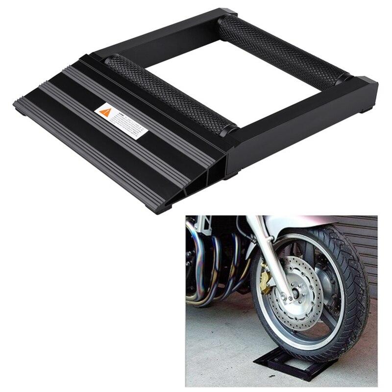 Qualité moto pneu chaîne nettoyage lubrifiant Vertical tambour pente support de levage nettoyage pneu support Jack