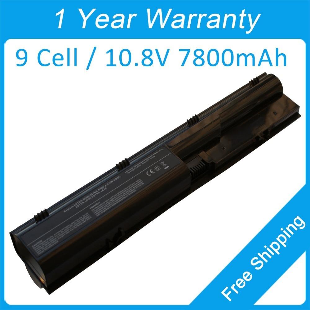 Nova baterija prijenosnog računala 7800mah za HP ProBook 4540s 4446s 4331s 4330s PR09 QK646AA QK646UT HSTNN-XB3C HSTNN-Q88C-5