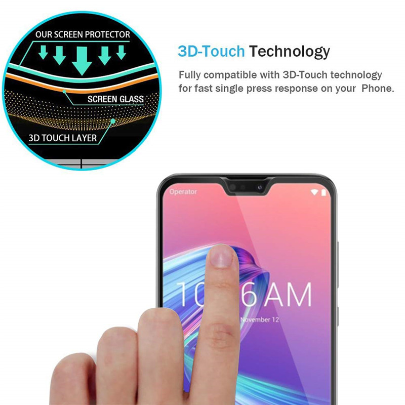 2 pcs protective glass For Asus Zenfone Max Pro M2 ZB631KL ZB633KL screen protector tempered glass 01