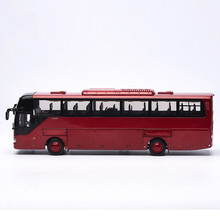 Collectible Alloy Model Gift 1:42 Scale Original Yutong ZK6122H9 Double-decker Transit Bus Vehicle DieCast Toy Decoration