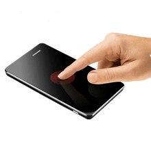 AEKU A7 Телефон С Супер Мини Ультратонких Карты Роскошный MP3 Bluetooth 1.0 «дюймовый Пыле Противоударный телефон