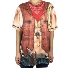 Vintage 18th Century Cowboy Halloween Costume for Men Wild West Adult Mens Costumes Plus Size