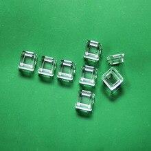 9,5 мм 180 градусов светодиодный объектив 5050 площади объектива Акрил светодиодный объектива