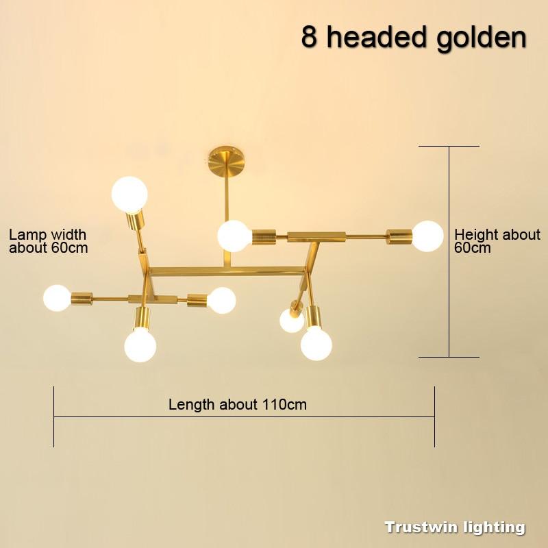 8 headed golden