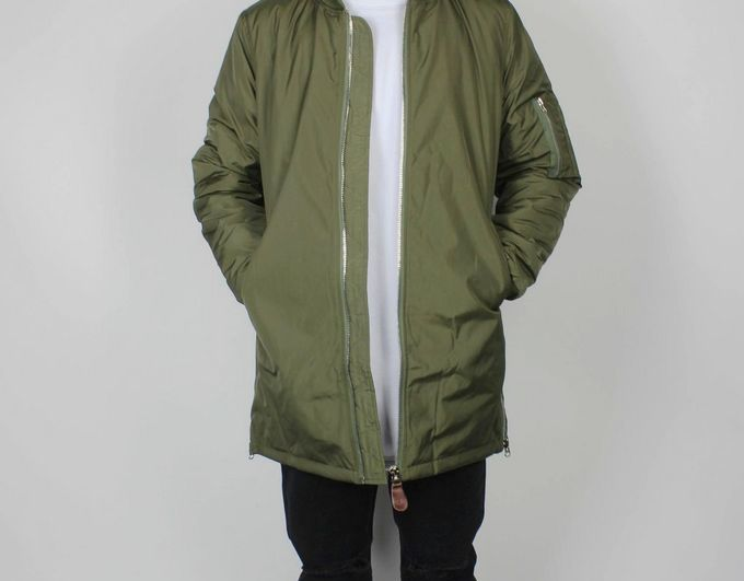 Green long bomber jacket mens – Modern fashion jacket photo blog