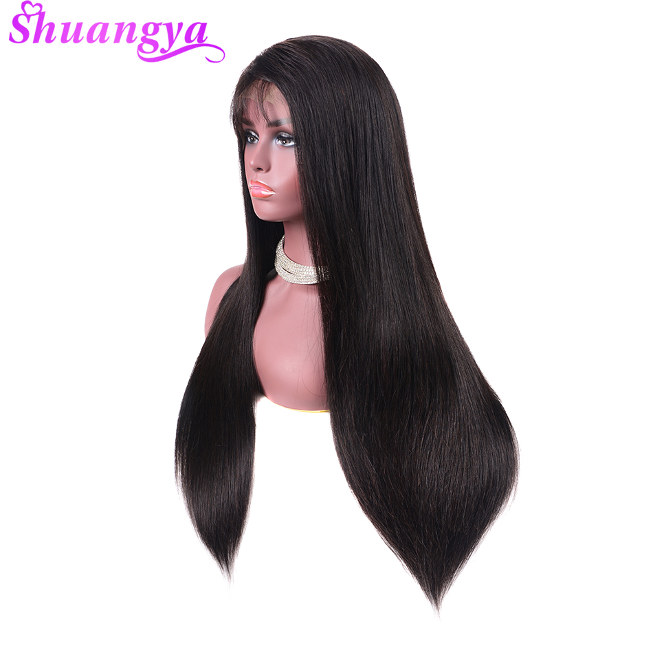 360 Lace Frontal Wigs Pre Plucked With Baby Hair Straight Lace Front Human Hair Wigs For Black Women Remy Hair Lace Front Wig