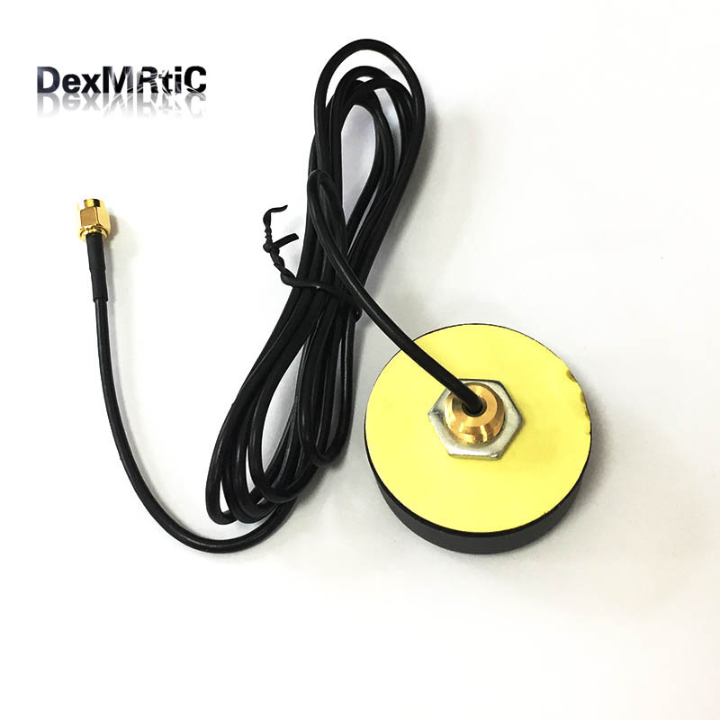 1PC 433Mhz 3dbi antenna DTU cabinet aerial OMNI waterproof with 1.2m extension cable SMA male for ham radio new white wifi antenna 2 4 ghz 5dbi n male wireless wlan white floding omni aerial