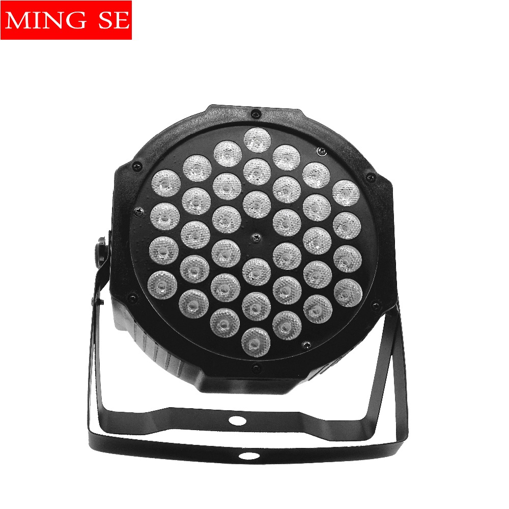 LED Par light 36x3W 36W High Power RGB Par Light With 4/8 Channels DMX512 Master Slave 36*3w Led Flat DJ Equipments ControllerLED Par light 36x3W 36W High Power RGB Par Light With 4/8 Channels DMX512 Master Slave 36*3w Led Flat DJ Equipments Controller