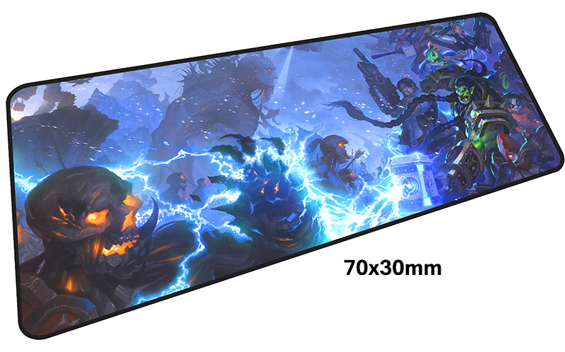 heroes of the storm mousepad gamer 70x30cM gaming mouse pad large Adorable notebook pc accessories laptop padmouse ergonomic mat