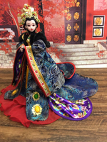 12 Collectible Chinese Dolls Beautiful Empress Wu Zetian Dolls With Realistic 3D Eyes Gorgeous BJD Doll