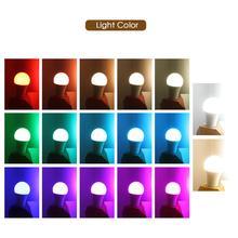 LED RGB Bulb E27 5W 10W 15W RGBW RGBWW Spotlight Colorful Home Decor Party Bar Christmas Night Table Lamp IR Remote 220V 240V