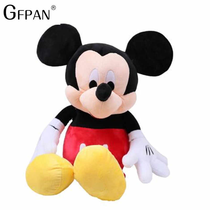 GFPAN 1 шт. 30 см горячая Распродажа Милая Микки Маус и Минни Маус мягкая плюшевая с наполнителем игрушки высокое качество подарки классическая игрушка для девочек