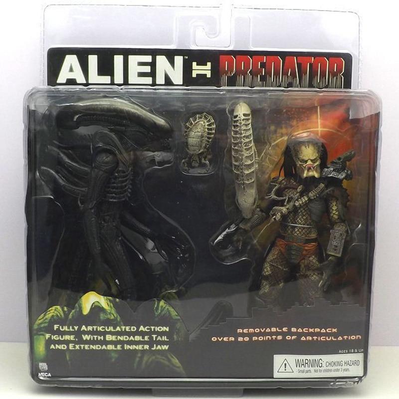 Alien Vs Predator Toys Alien Figure Predator Pvc Toy Figure Action & Toy Figures Model Predator Movie Toys Action Figures