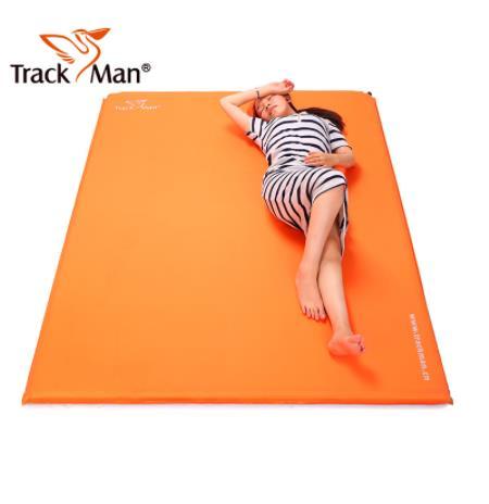 Trackman 2 personnes extérieur auto-gonflant coussin de couchage sans oreiller Camping tente tapis voyage tapis étanche à l'humidité 3 cm 4 cm d'épaisseur
