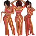 Macacão sensuais para As Mulheres 2016 Nova Rompers Womens Jumpsuit Plus Size Estilo Europeu Mulheres Macacão Moda Verão Macacão Magras