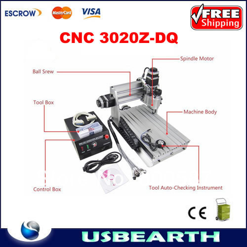 CNC 3020Z-DQ(3020 Z-DQ) engraving machine,upgraded from cnc 3020 router/cnc 3020T-DJ,factory wholesale фотобарабан panasonic dq dcd100a7 dq dcd100a7
