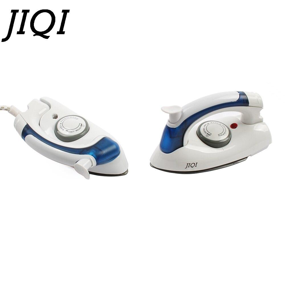JIQI MINI Portable Foldable Garment Steamer Handheld Travel Clothes Sprayer Electric Steam Iron Flatiron Ironing Machine EU Plug