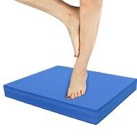 Almofada de equilíbrio não slid yoga almofada treinamento abrangente exercício de fitness unisex casa yoga esteira espuma ginástica equilíbrio ginásio esteiras