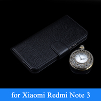 100 Genuine Leather Business Phone Case For Xiaomi Redmi Red Rice Hongmi Note 2 Note2 Wallet