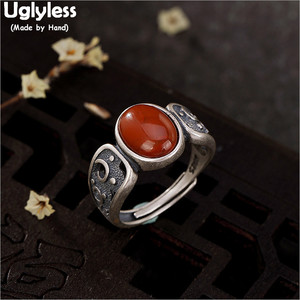 Uglyless 100% Real 925 Sterling Silver E