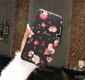 New Beautiful Roses flowers Silicon TPU Soft Back Covers Case for iPhone 6 6s Plus Fundas Coque for iPhone Cases free shipping