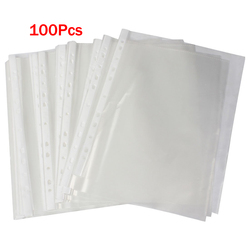 Affordable office a4 papers document sheet protector clear white.jpg 250x250