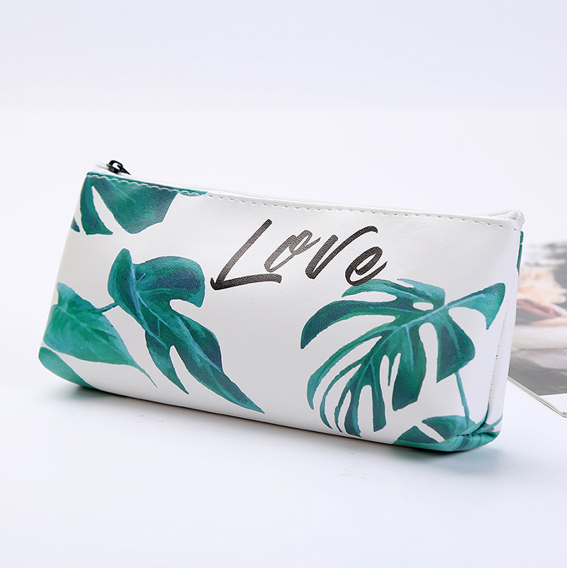 3Colors Kawaii Pencil Case Turtle Leaf Gift Estuches School Pencil Box Pencil Case Pencil Bag For School Stationery Art Supplies