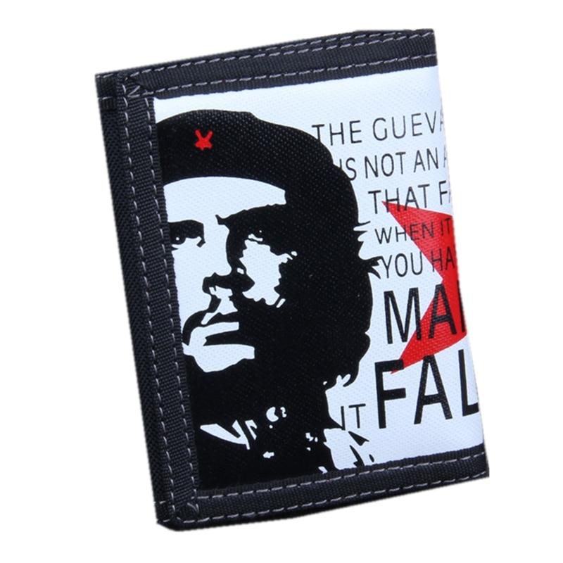 2018 Neue Punk Tri-falten Leinwand Brieftasche Große Kapazität Tasche Brieftaschen Für Männer Und Frauen Designer Beiläufige Kurze Zipper Geldbörse