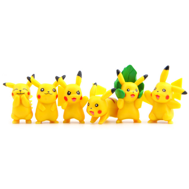 Puppets Pikachu Figures Toy Vinyl Doll Anime Cartoon Toys