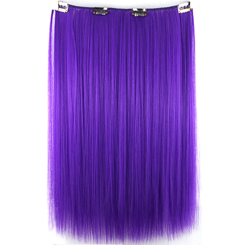 colored clip in hair extensions your style 16 straight ...