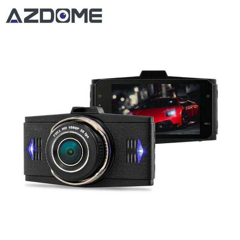 """imágenes para Azdome G9WB Caliente V3 Coche Dual DVR Allwinner Full HD 1080 P Coche Cámara Grabadora de Vídeo 3.0 """"LCD G-sensor Dash Cam Cámaras de Remolque H20"""