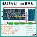 2 PCS/a lot 4S 15A PCM BMS placa de proteção da bateria de iões de lítio 2016 novos 3 S 4S upgrage bms pcm para aplicação de alta corrente